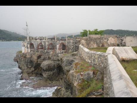 Fort Charlotte, located in Lucea, Hanover, was built in the mid 18th century by the British.