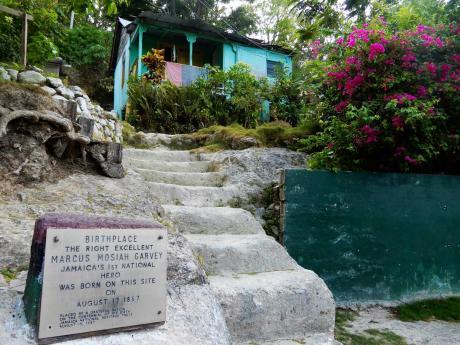 The birthplace of Jamaica's National Hero Marcus Garvey.