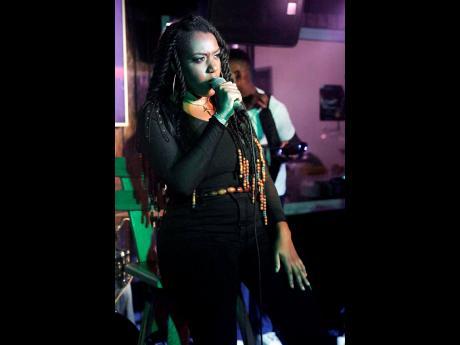 Stephanie Lyew photo  Roots-reggae singer Yeza.