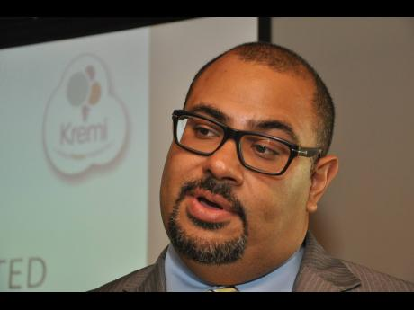 Christopher Clarke, CEO of Kremi/Caribbean Cream Limited.