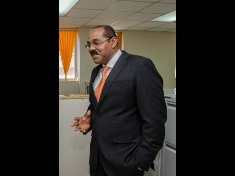 Prime Minister of Antigua & Barbuda, Gaston Browne.