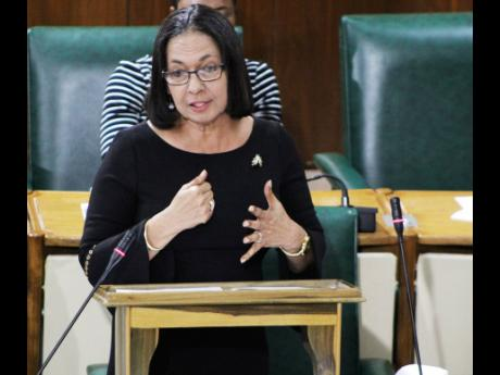 Minister of Labour and Social Security Shahine Robinson.