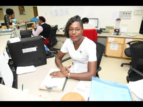 Adine Rose-Laing rose above adversities to realise her dreams of becoming a nurse.