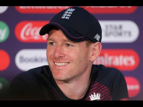 England's captain Eoin Morgan.
