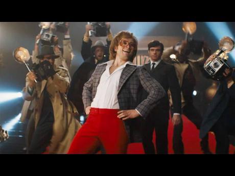 Taron Egerton stars as Elton John in Rocketman.