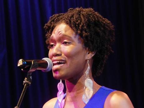 Tashi Campbell, a singing student of Avant Academy of Music, performing at the PSCCA.