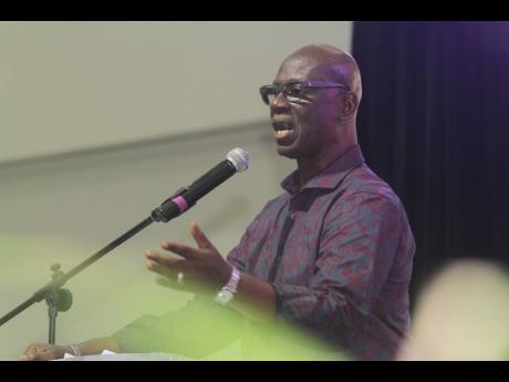 Desmond McKenzie, minister of local government and community development.