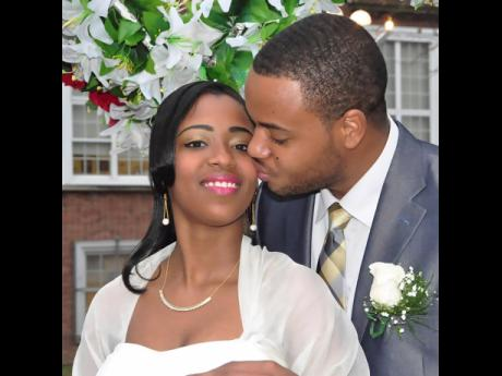 Magnus McKellar and his wife, Anthyne Blair-McKellar, co-owners and managers of Jamrock Jerk in New York.