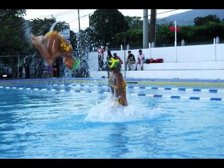 The YMCA in St Andrew is one of the few facilities in Jamaica where persons can learn how to swim.