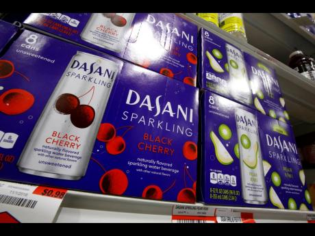 Dasani sparkling water, a Coca-Cola product, on display at a market in Pittsburgh.