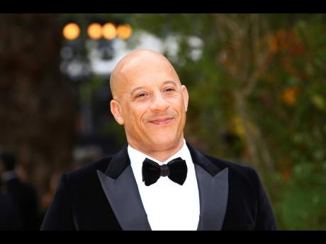 Actor Vin Diesel poses for photographers upon arrival at the 'Lion King' European premiere in central London, last week Sunday.