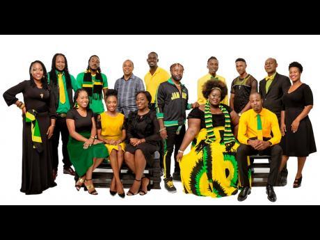 The 2019 Jamaica Festival Song finalists.