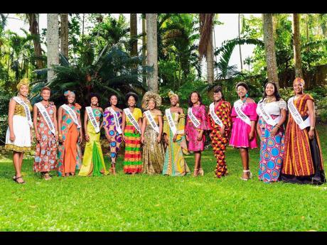 Miss Jamaica Festival (Parish) Queens