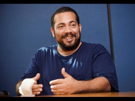 President of the MMA Jamaica Sports Federation, Daniel Chacko-Wilmot.
