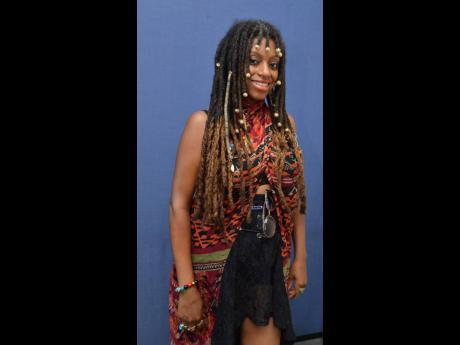American singer Natural Onyx.