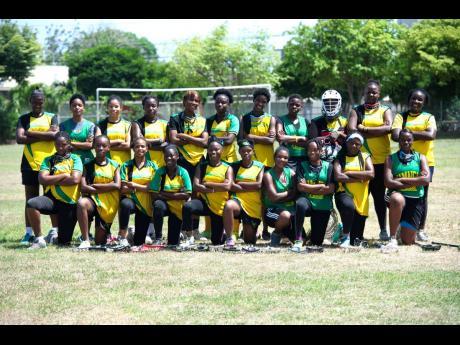 Jamaica's Under-19 women's lacrosse team.