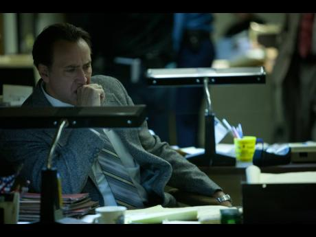 Nicolas Cage seeks revenge after wrongful imprisonment in 'A Score to Settle'.