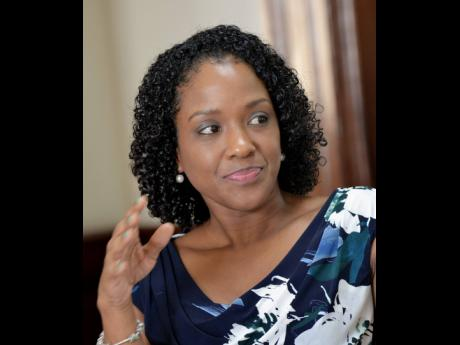 File photos  Sanya Goffe, president of the Pension Industry Association of Jamaica.