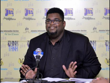 Gregory Simms, director, events and production, JCDC.