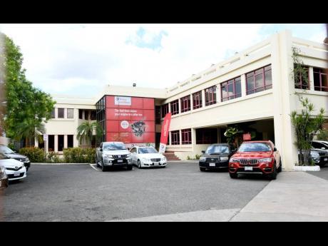 Total Jamaica headquarters at Hope Road, Kingston.