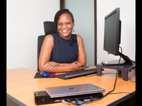 Kerron Clarke-Barrett, Red Stripe's global information services manager.
