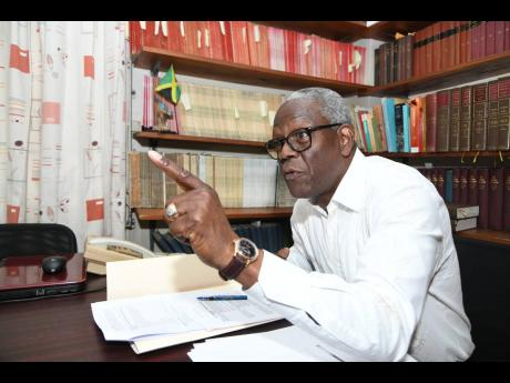 Wentworth Charles, chairman of the South East Regional Health Authority