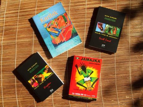 The four travel guides written by Nita Kimuri.