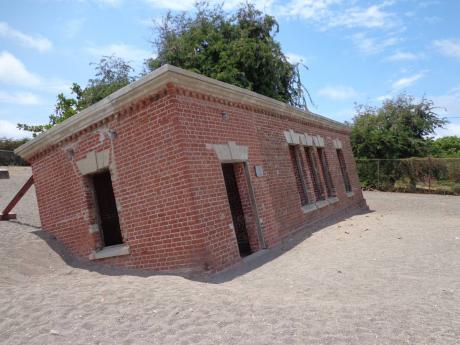 Giddy House  in Port Royal is a very popular attraction.