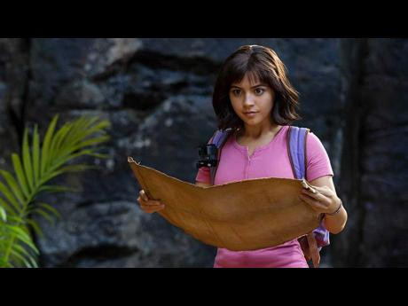 Dora (Isabela Moner) sets out on her most dangerous adventure yet in 'Dora and the Lost City of Gold'.