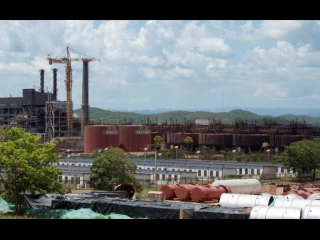 The JISCO Alpart bauxite plant in Nain, St Elizabeth.