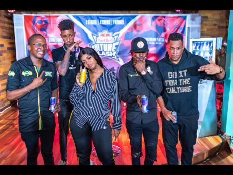From left: Badda Bling, DJ Antsman, Jada Kingdon, Bishop Escobar, and DJ Bambino.