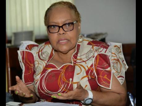 Kenyon Hemans/Photographer  Valerie Veira, CEO of Jamaica Business Development Corporation.