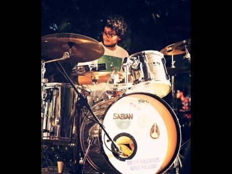 Jeremy Ashbourne, drummer and co-organizer of Kingston Dub Club Live.
