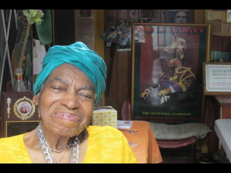 Queen Mother Mariamne Samad was a dedicated and passionate Garveyite, a black pride activist, and fashion designer who invented the dashiki.