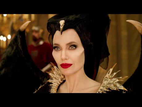 This image, released by Disney, shows Angelina Jolie as Maleficent in a scene from 'Maleficent: Mistress of Evil'.