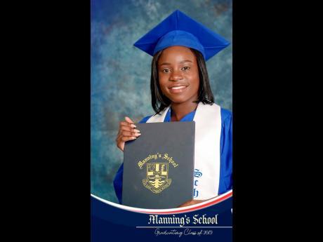 Manning's School student Afrecia Samuels.