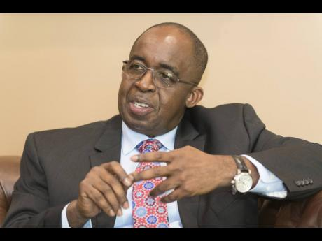 Patrick Hylton, chairman of Guardian Holdings Limited and president & CEO of NCB Financial Group.