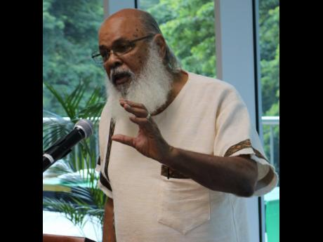 Professor emeritus of psychiatry at The University of the West Indies, Frederick Hickling.