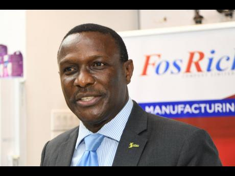 Cecil Foster, CEO of FosRich Company Limited.