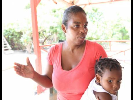 Ann-Marie Chamberlain, with her son Neville Weir, talks with The Gleaner about the challenges ahead for Beach View Restaurant and Bar.