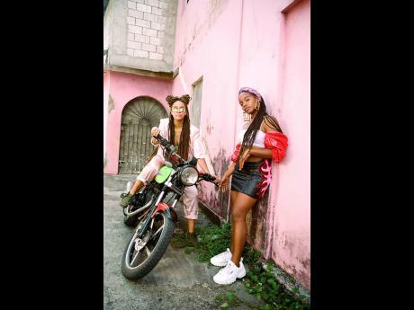Kelissa (left) and Shacia Payne.