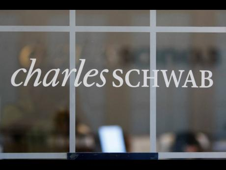 A Charles Schwab office in Oakland, California.