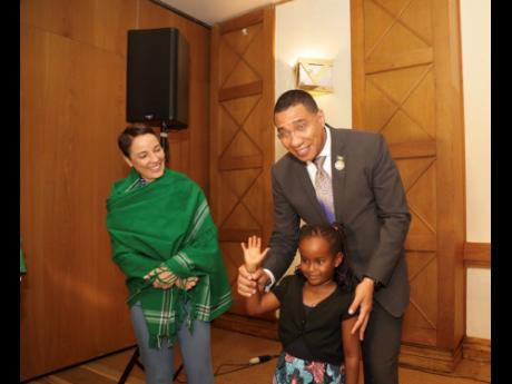 Prime Minister Andrew Holness and Foreign Affairs and Foreign Trade Minister Senator Kamina Johnson Smith engage the Jamaican Diaspora in Kenya.