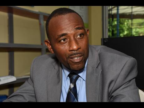 Justin Duncan, principal of the Bull Bay Infant and Primary School in  St Thomas.