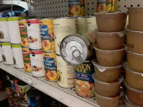 Some of the expired goods The Sunday Gleaner found on local store shelves during a probe earlier this month.