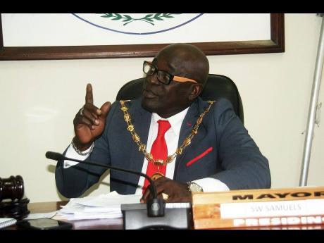 Mayor of Lucea Sheridan Samuels.