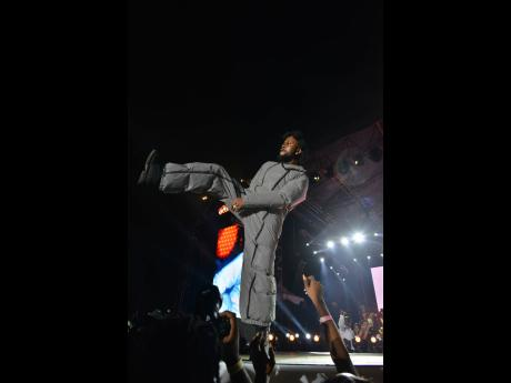 The Unruly Boss Popcaan sizzles at Unruly Fest.