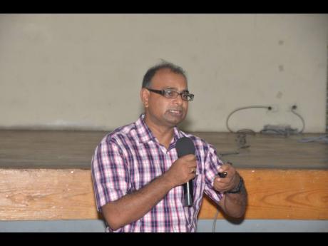 Dr Kaushal Singh, medical officer of health for Hanover.