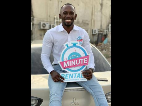 Minute Rentals Chief Executive Officer and founder, Ferone Bryan.