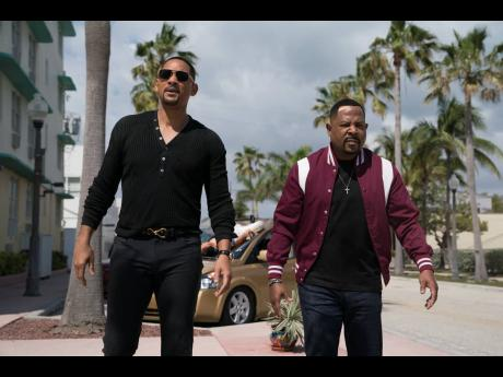 Martin Lawrence (right) and Will Smith in a scene from 'Bad Boys for Life'.